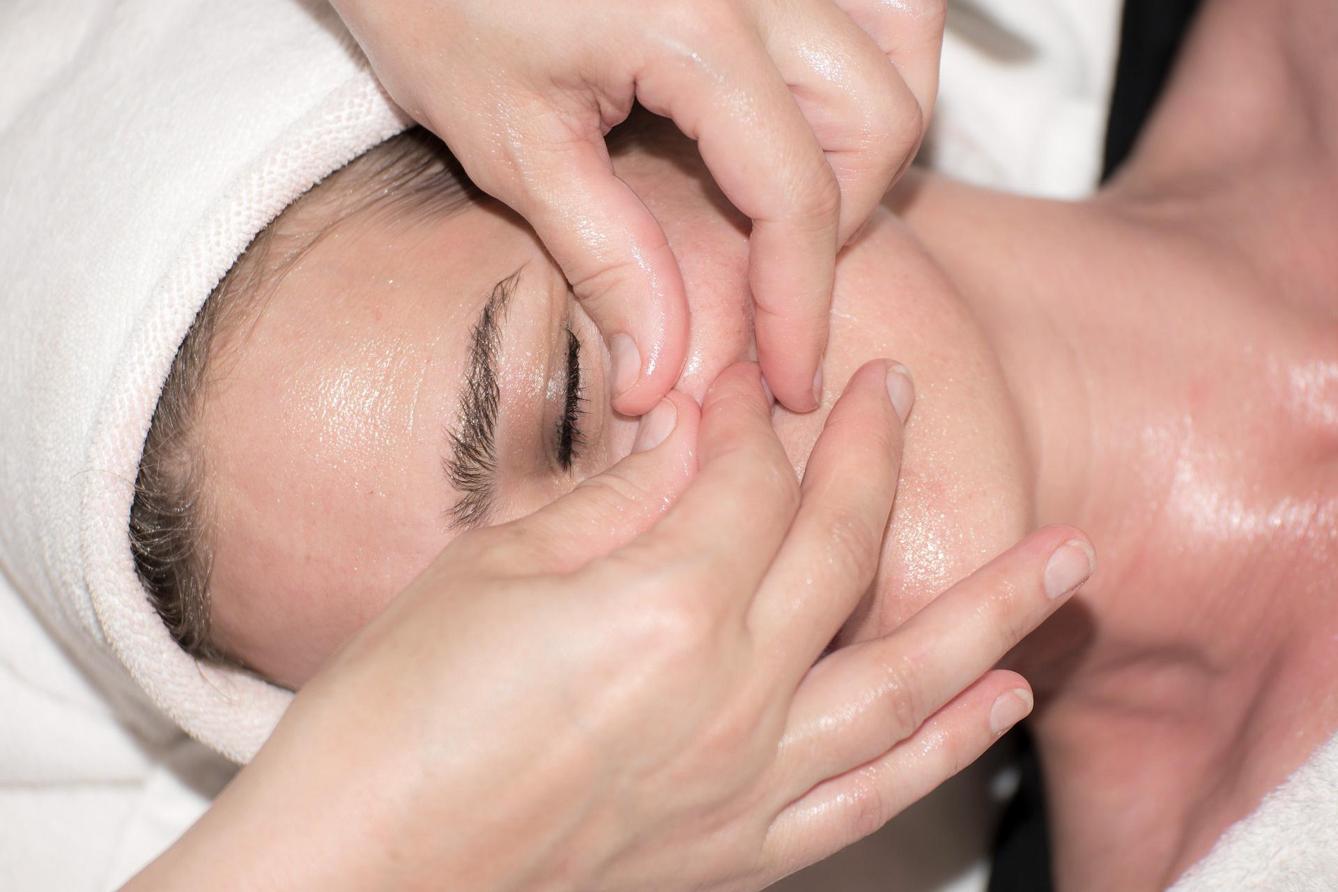 Réflexologie du visage